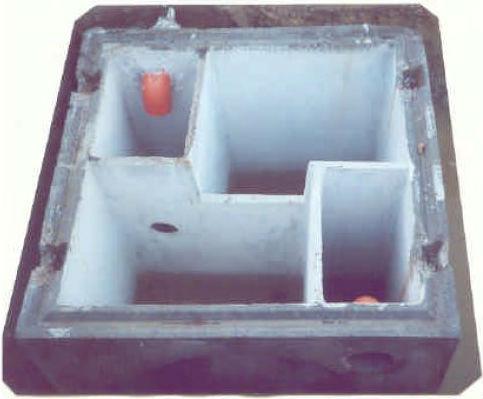 Fosse disoleatori e degrassatori disoleatori for Fosse settiche in cemento