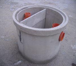 Fosse disoleatori e degrassatori fossa biologica prima for Fosse settiche in cemento