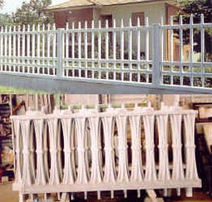 Muretti prefabbricati per recinzioni