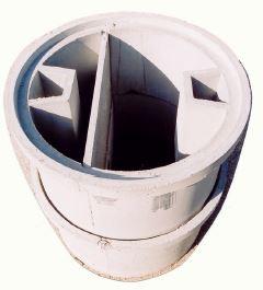 Fosse disoleatori e degrassatori sgrassatore o pozzetto for Fosse settiche in cemento